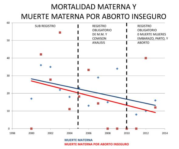 5 - Mortalidad materna y muerte maternas por aborto inseguro